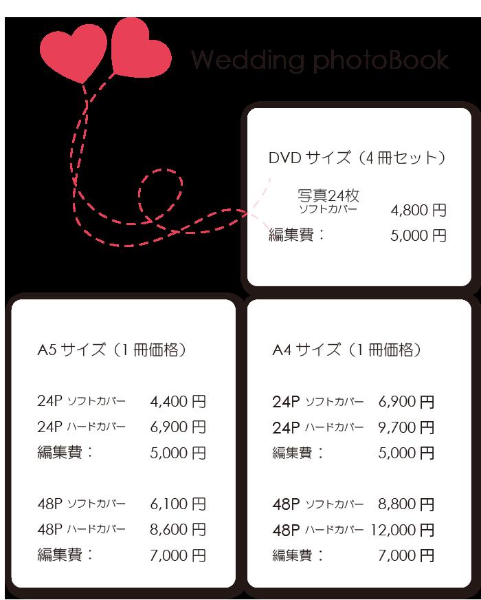 ブライダルフォトブック・アルバム
